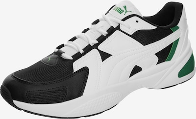 PUMA Sneakers laag 'Ascend' in de kleur Groen / Zwart / Wit, Productweergave