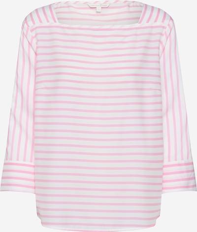 TOM TAILOR DENIM Bluse in pink / weiß, Produktansicht