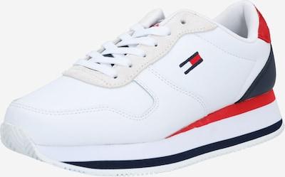 Tommy Jeans Trampki niskie 'Flatform Essential Runner' w kolorze ciemny niebieski / czerwony / białym, Podgląd produktu