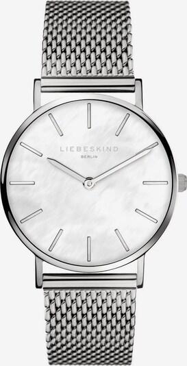 Liebeskind Berlin Uhr in silber / perlweiß, Produktansicht