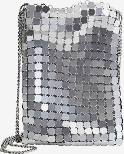 VIOLETA by Mango Tasche in silber, Produktansicht