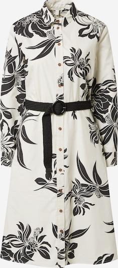 ESPRIT Robe-chemise en noir / blanc cassé, Vue avec produit