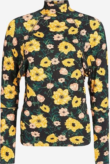 khujo Shirt 'Shedi ' in de kleur Lichtbruin / Geel / Spar / Gemengde kleuren / Zwart, Productweergave