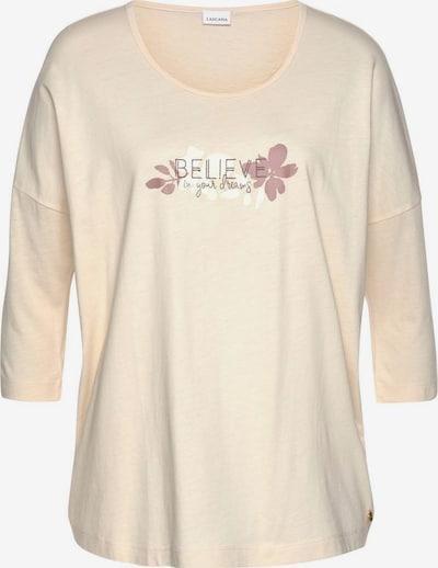 LASCANA Shirt in nude, Produktansicht