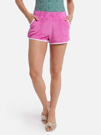 Shiwi Badeshorts 'Terry' in pink: Frontalansicht