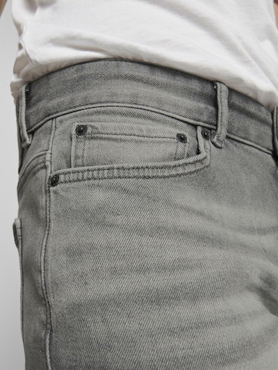 TOM TAILOR Jeans 'Josh' in grau: Frontalansicht