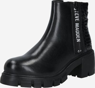 STEVE MADDEN Stiefelette 'GROSS-S' in schwarz / weiß, Produktansicht