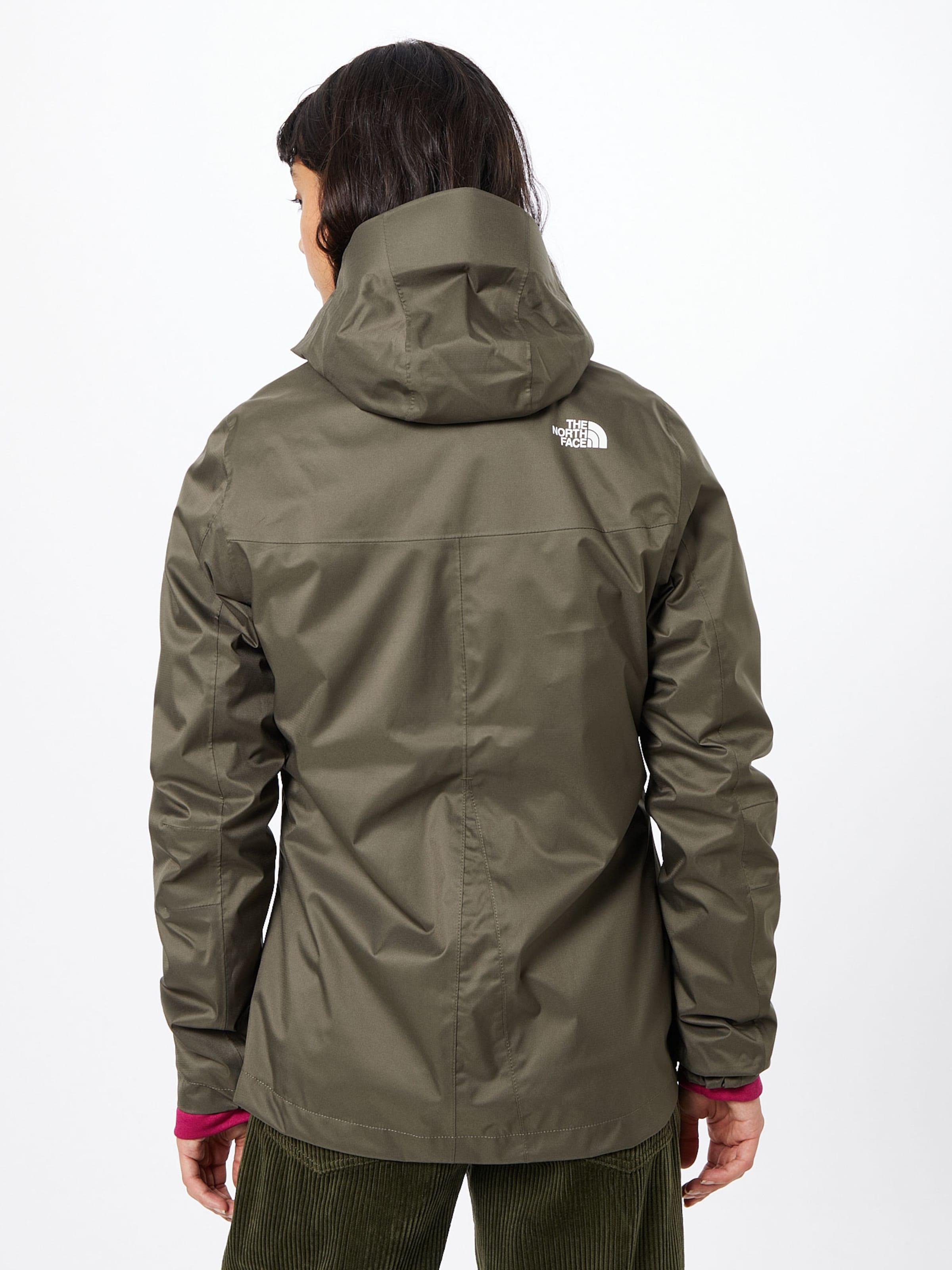 THE NORTH FACE Kültéri kabátok zöld színben