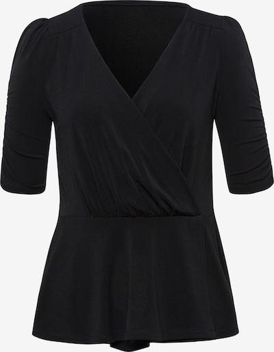Uta Raasch V-Shirt mit 1/2-Arm in schwarz, Produktansicht