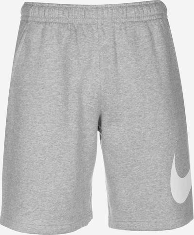 Nike Sportswear Housut värissä harmaa / valkoinen, Tuotenäkymä