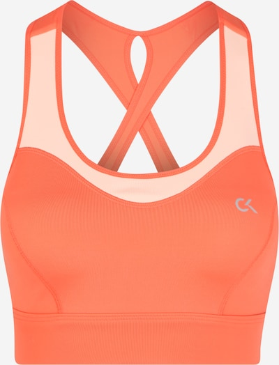Calvin Klein Performance Sport-BH in koralle, Produktansicht