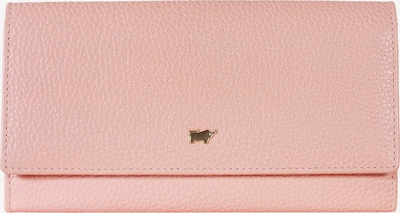 Braun Büffel Lederbörse ASTI L 25CS aus genarbtem Rindsleder in pink, Produktansicht
