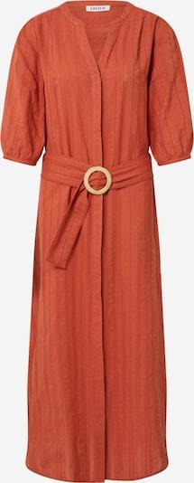 Rochie tip bluză 'Tinna' EDITED pe roșu / roșu ruginiu, Vizualizare produs