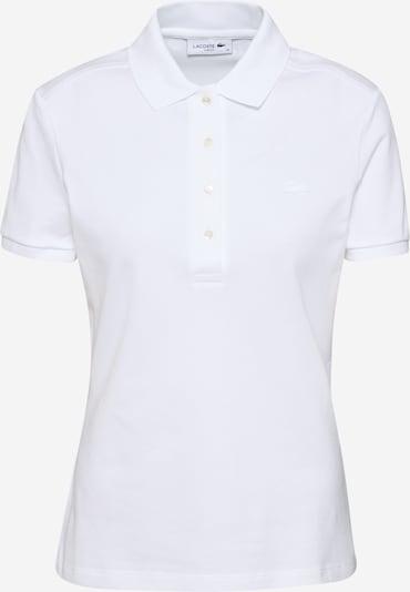 LACOSTE Camiseta 'CHEMISE' en blanco, Vista del producto