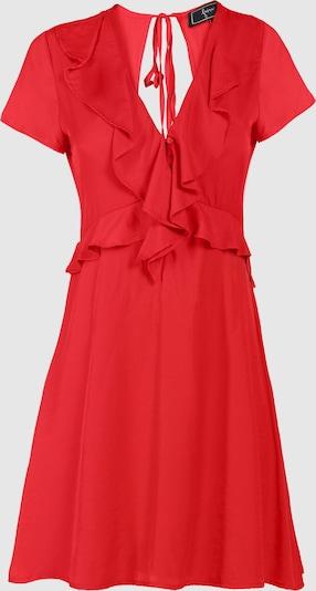 faina Volantkleid in rot, Produktansicht