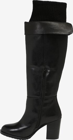 ABOUT YOU Škornji 'Nia' | črna barva: Pogled od strani