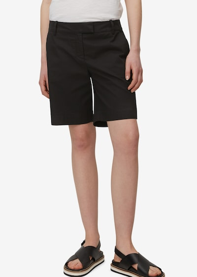 Marc O'Polo Shorts in schwarz, Modelansicht