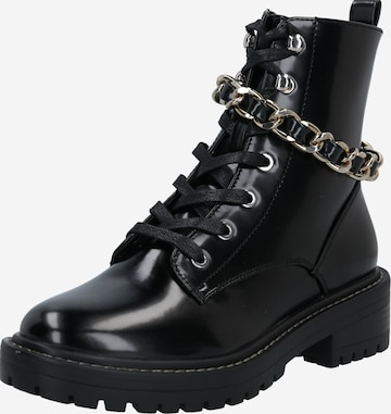 ONLY Lace-up bootie in Black