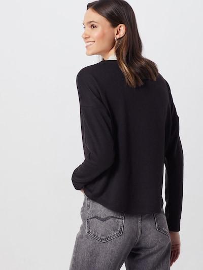 ONLY Sweter 'ASHLEY' w kolorze czarny / białym: Widok od tyłu