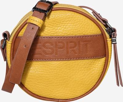 Geantă de umăr ESPRIT pe maro / galben, Vizualizare produs
