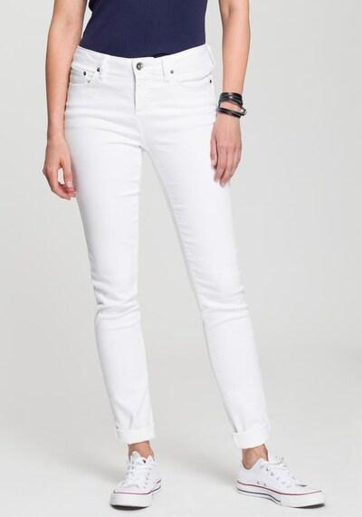 HIS JEANS Jeans in white denim, Modelansicht