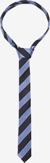 SEIDENSTICKER Krawatte 'Slim' in kobaltblau / hellblau, Produktansicht