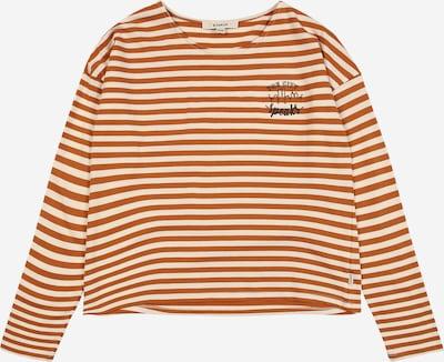 GARCIA Shirt in ecru / rot / weiß, Produktansicht