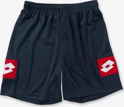 LOTTO Shorts in nachtblau / rot / weiß, Produktansicht
