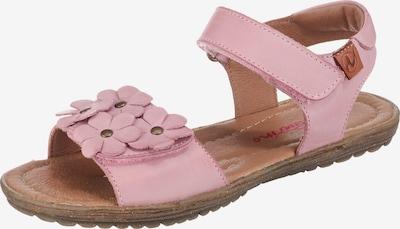 NATURINO Sandalen in rosa, Produktansicht