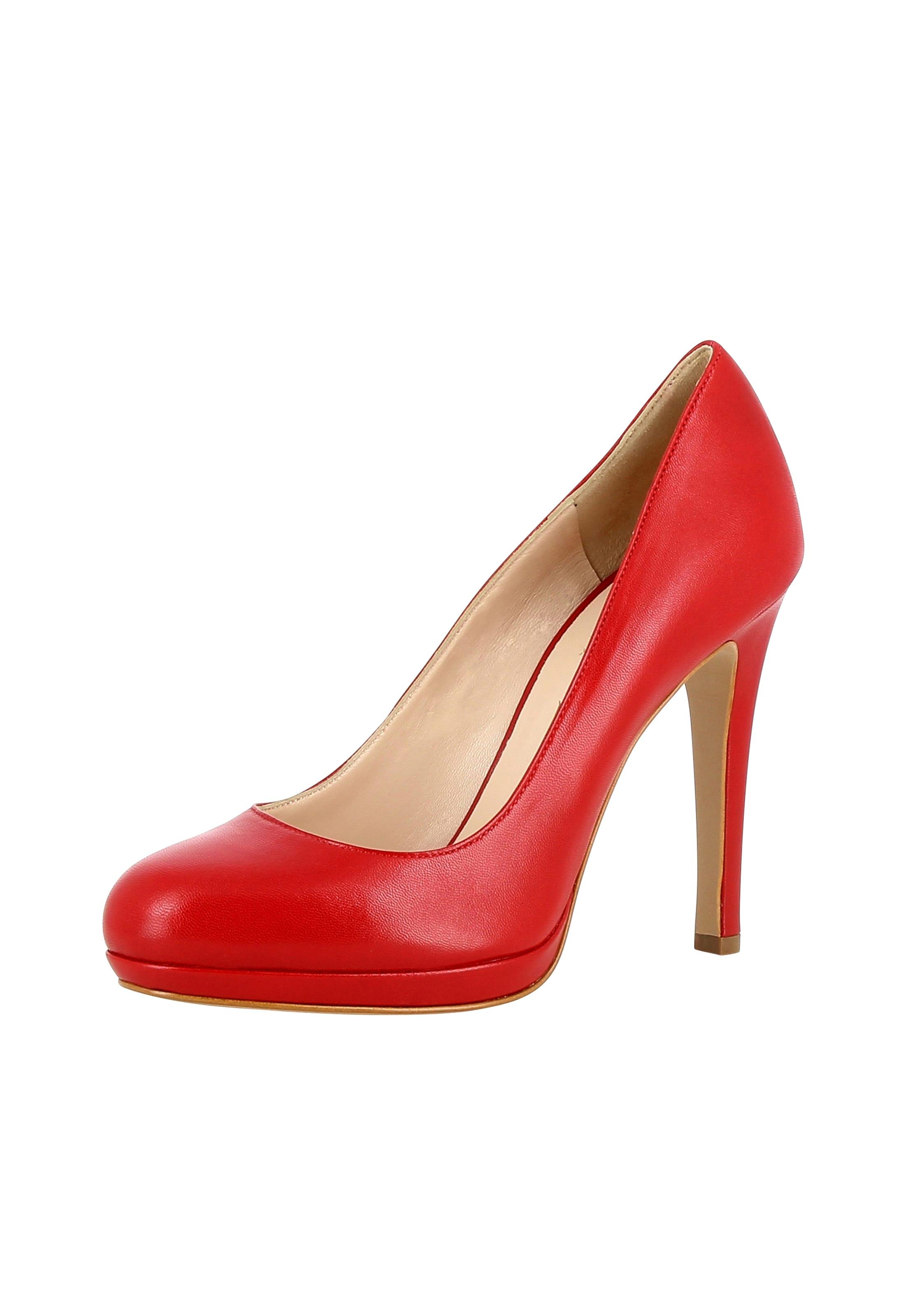 Escarpins Rouge 'cristina' En En Evita Evita Rouge Escarpins 'cristina' WEDIY29H