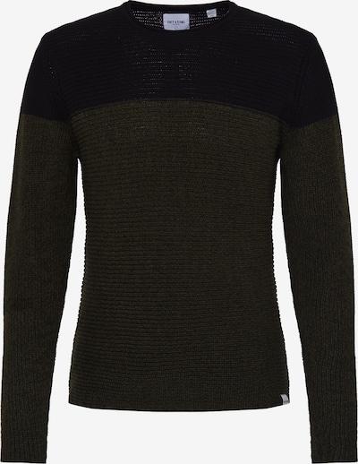 Only & Sons Pullover in dunkelgrün / schwarz, Produktansicht
