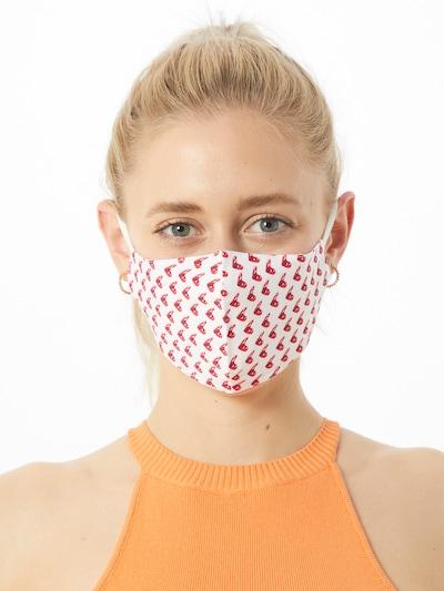 ABOUT YOU Stoffmasken 3er Pack 'Karolina' in pink / weiß: Frontalansicht