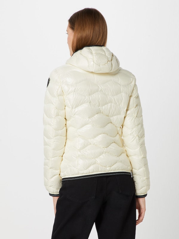 D'hiver Blanc usa Piuma' Corti Veste Imbottito En Blauer 'giubbini TkiwOPXZu