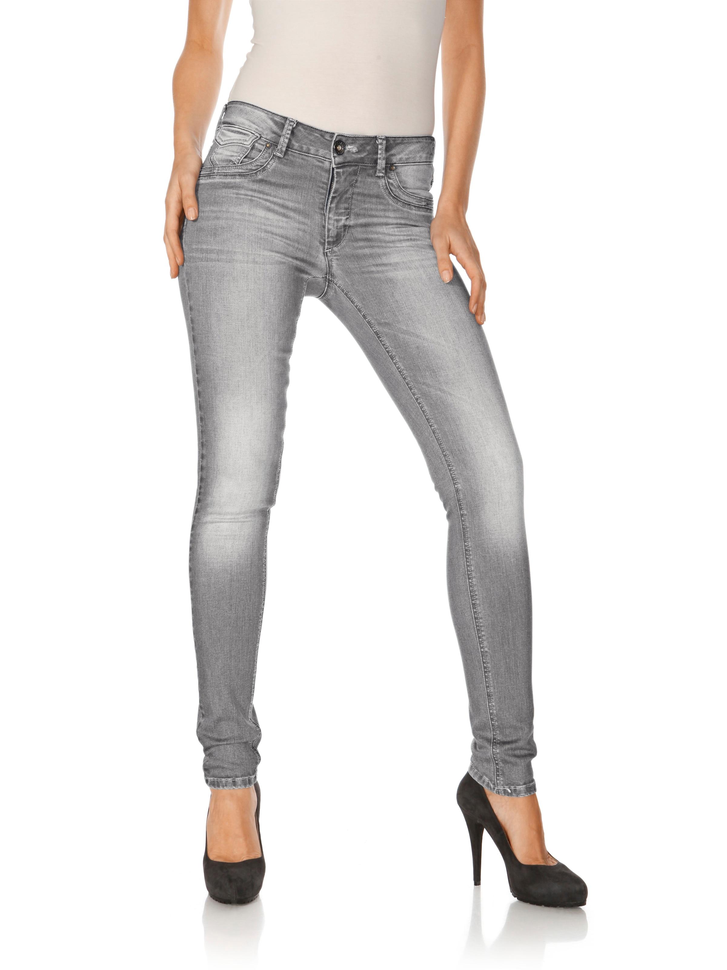 B.C. Best Connections by heine Jeans mit Used-Waschung Super Angebote Original Günstiger Preis dqPUzSE