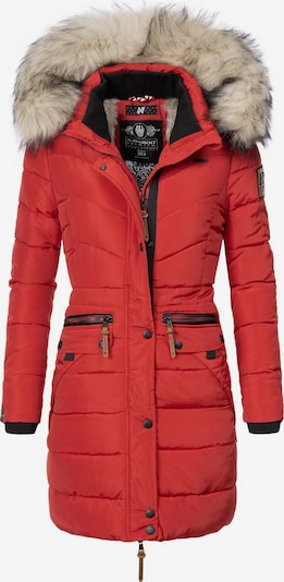 NAVAHOO Steppmantel 'Paula' in rot, Produktansicht