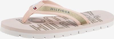 TOMMY HILFIGER Žabky - modré / zlatá / ružová, Produkt