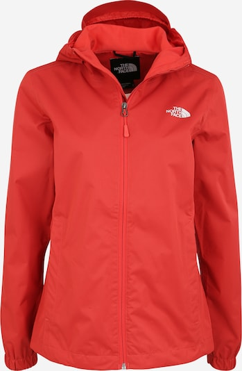 THE NORTH FACE Jacke 'Quest' in rot / schwarz, Produktansicht