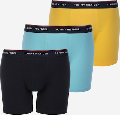 TOMMY HILFIGER Boxershorts in türkis / gelb / mischfarben / schwarz, Produktansicht