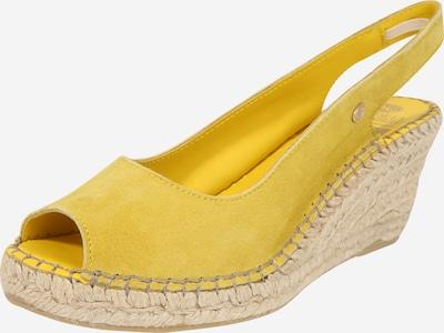 Fred de la BretoniÈre Sandale 'ESPADRILLE' in gelb, Produktansicht