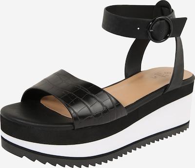 CALL IT SPRING Sandale 'RILEYY' in schwarz / weiß, Produktansicht