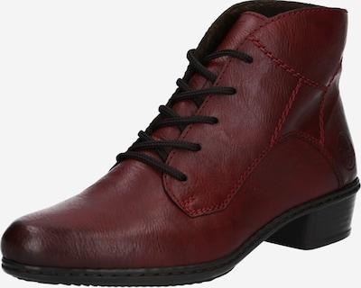 RIEKER Stiefelette in rot / schwarz, Produktansicht