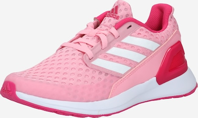 rózsaszín / fehér ADIDAS ORIGINALS Sportcipő 'Rapida Run J': Elölnézet