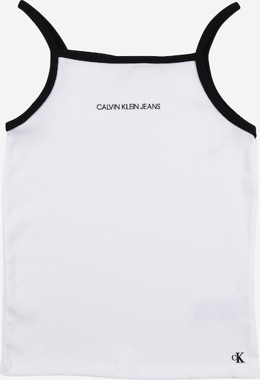 Calvin Klein Jeans Topiņš 'Rib' melns / balts, Preces skats