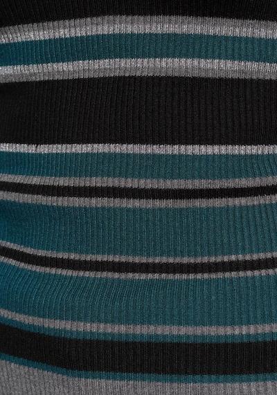 MELROSE V-Ausschnitt-Pullover in petrol, Produktansicht