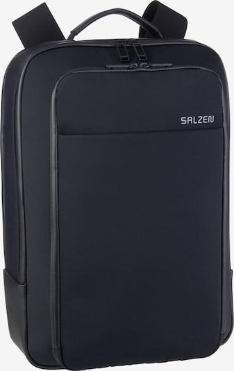 SALZEN Laptoprucksack 'Business Backpack Fabric' in schwarz, Produktansicht