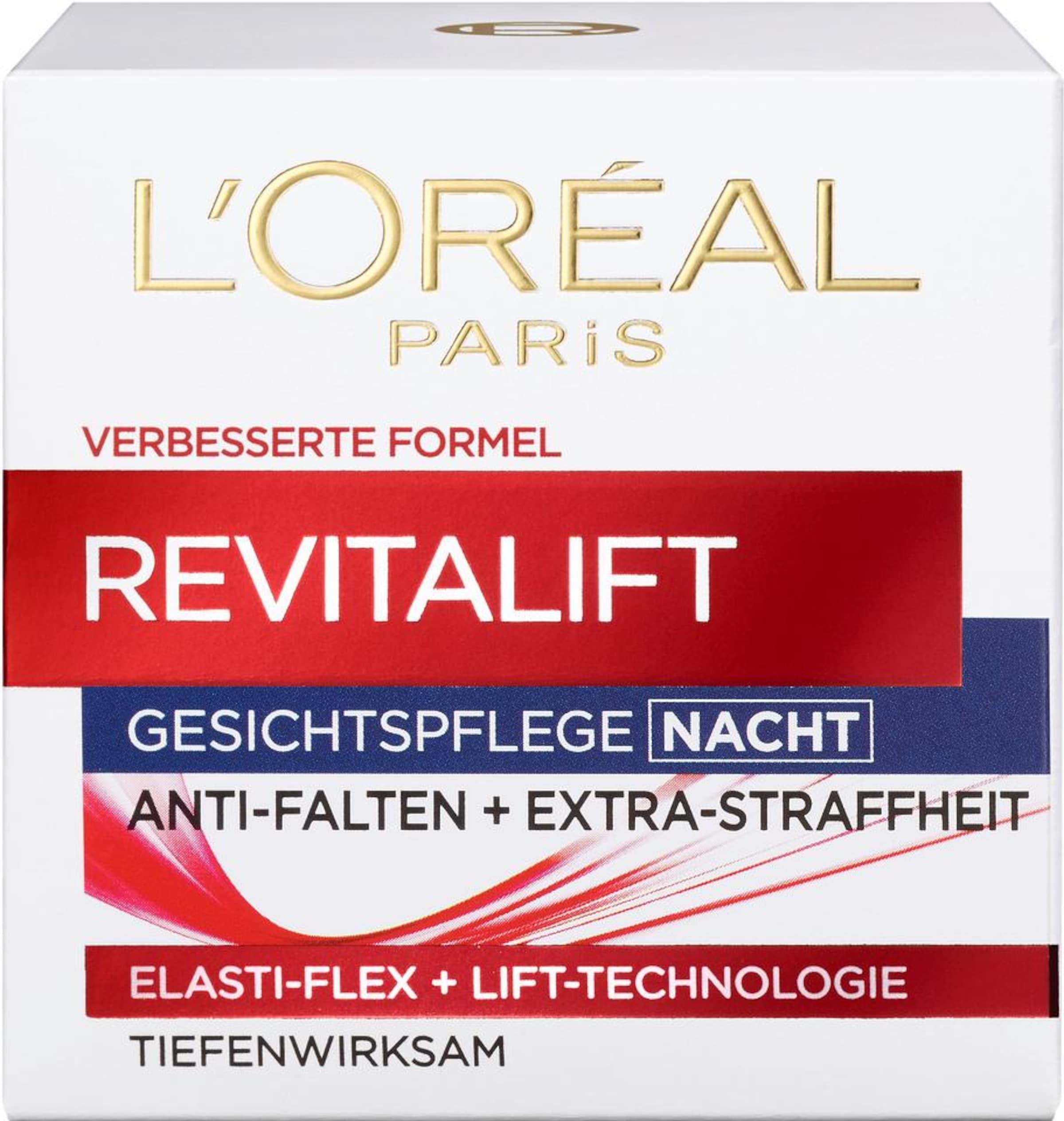 Gesichtspflege 'RevitaLift 'RevitaLift Creme Nacht' Paris Creme Paris L'Or茅al L'Or茅al Nacht' Gesichtspflege rrqxw5p0