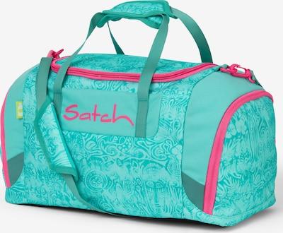 Satch Tasche in jade / dunkelpink, Produktansicht