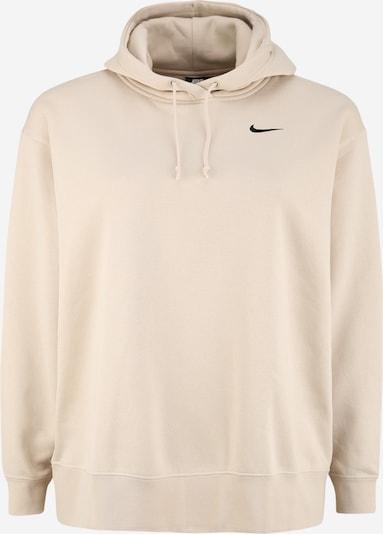 Nike Sportswear Mikina - béžová / černá: Pohled zepředu