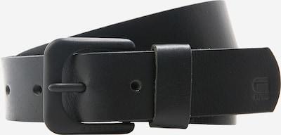 G-Star RAW Ceinture en noir, Vue avec produit