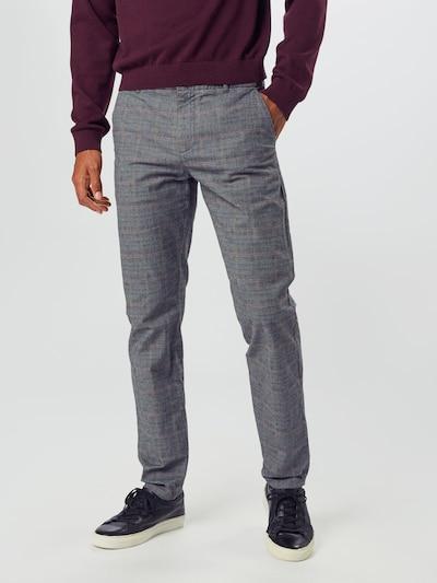 SELECTED HOMME Chino in de kleur Blauw / Grijs / Rosa, Modelweergave